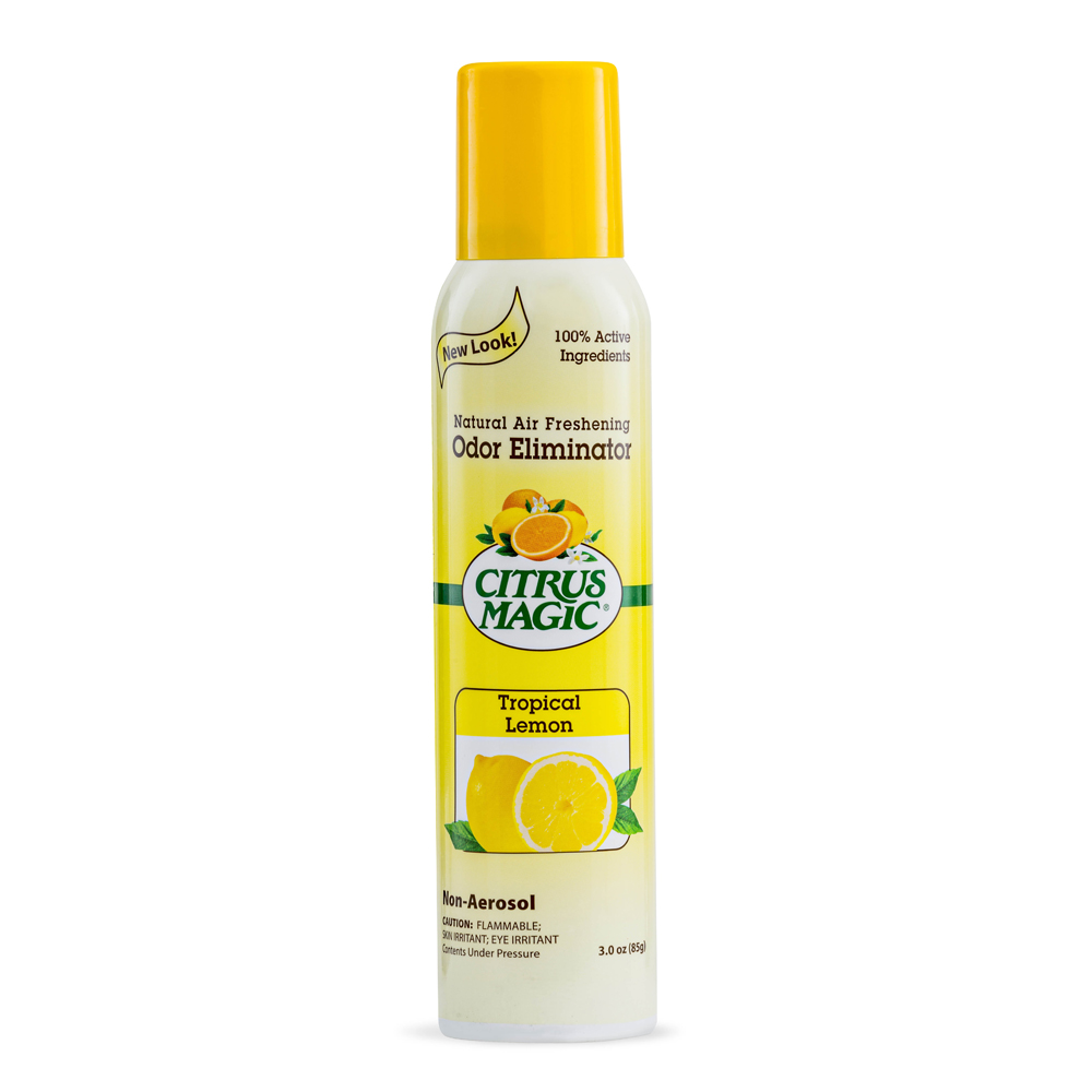 Citrus Magic Spray Air Freshener – Tropical Lemon