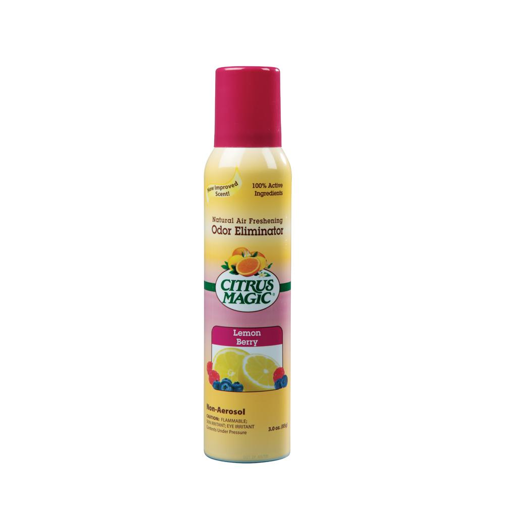Citrus Magic Spray Air Freshener – Lemon Berry