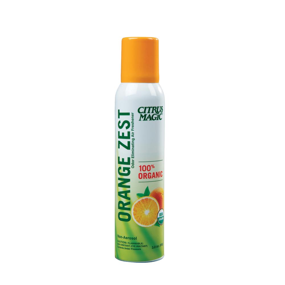 Citrus Magic Spray Air Freshener – Organic – Orange Zest