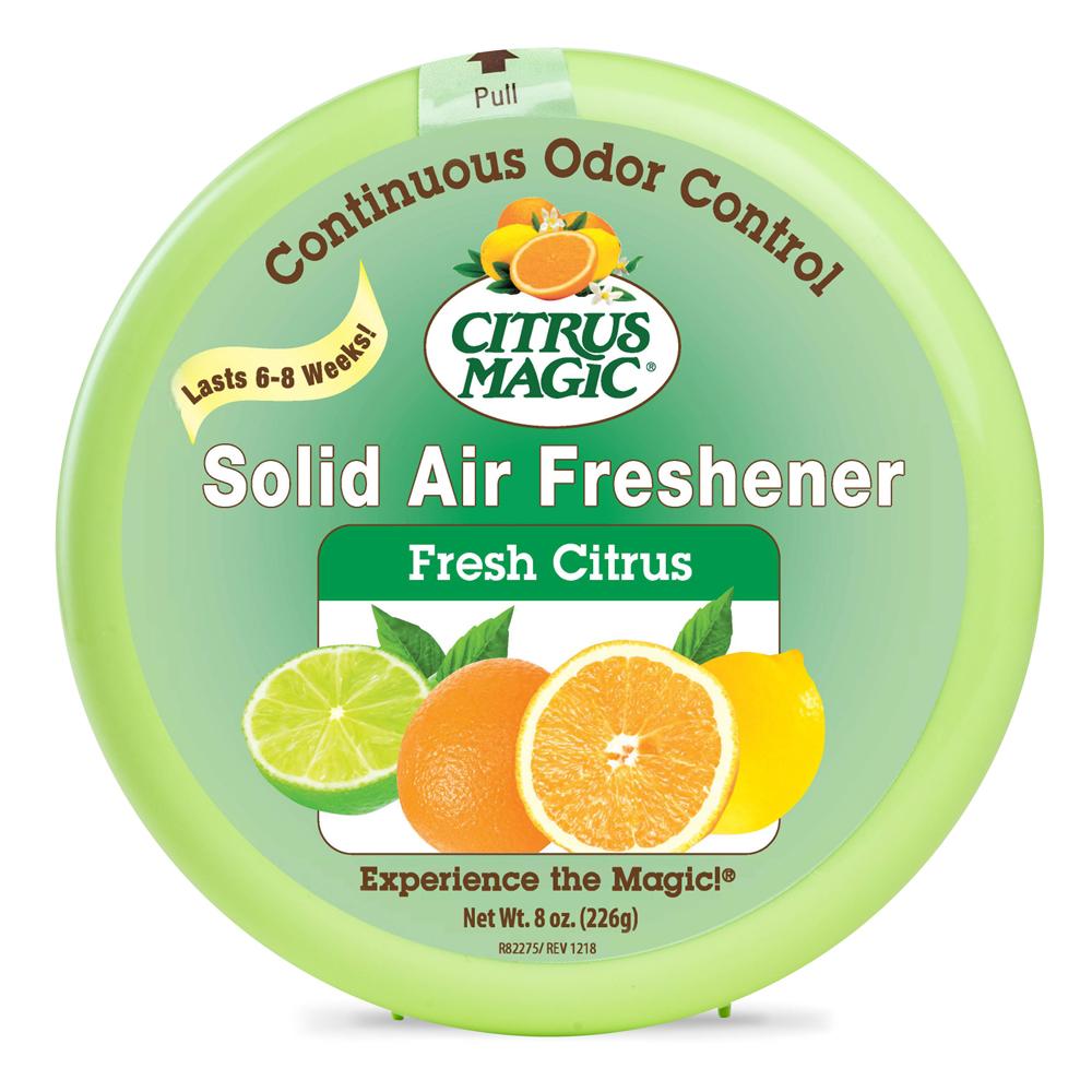 Citrus Magic Solid Air Freshener – Fresh Citrus