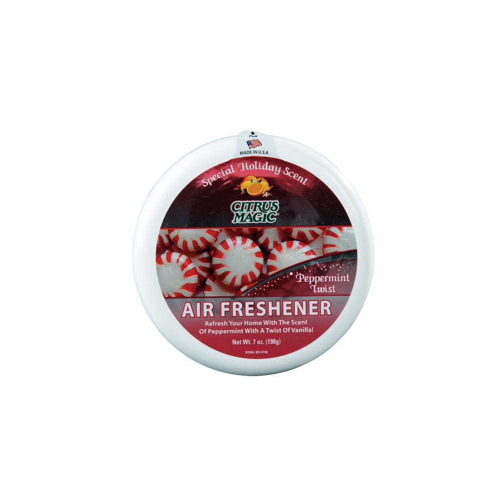 Citrus Magic Solid Air Freshener – Peppermint Twist
