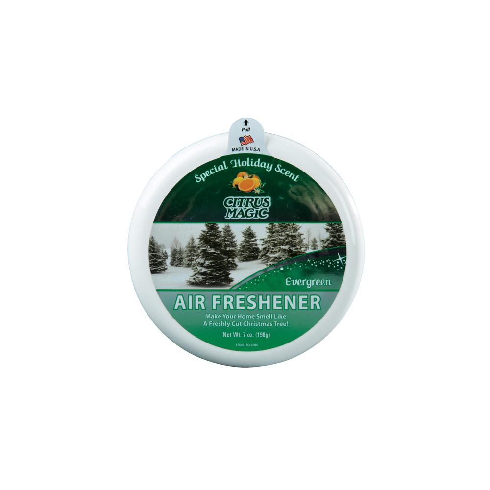 Citrus Magic Solid Air Freshener – Evergreen