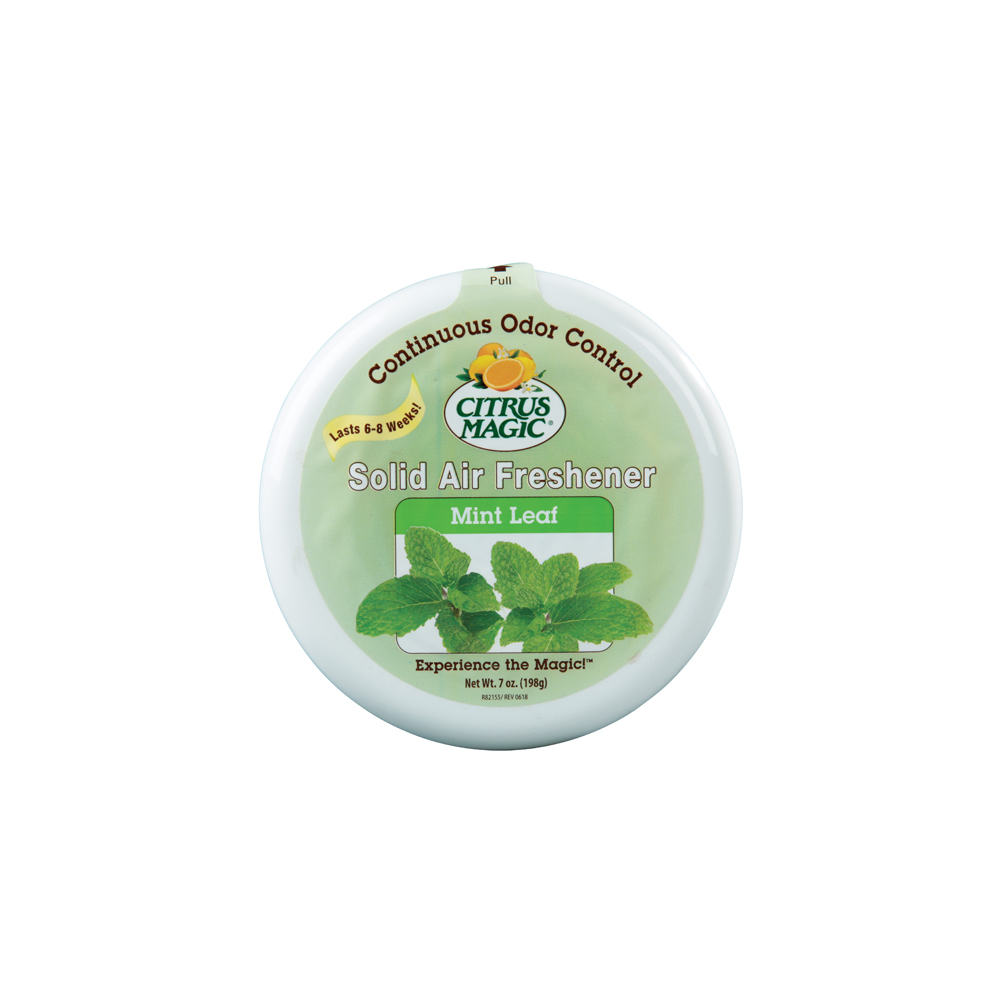 Citrus Magic Solid Air Freshener – Mint Leaf