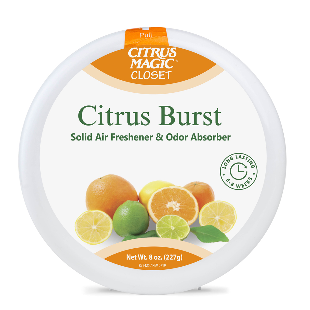 Citrus Magic Solid Air Freshener – Closet – Citrus Burst