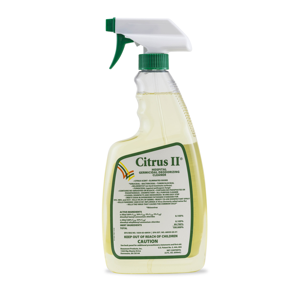 Citrus II Germicidal Cleaner – Citrus Scent