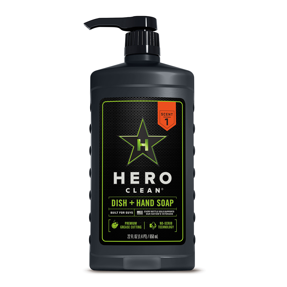 Hero Clean Dish & Hand Soap