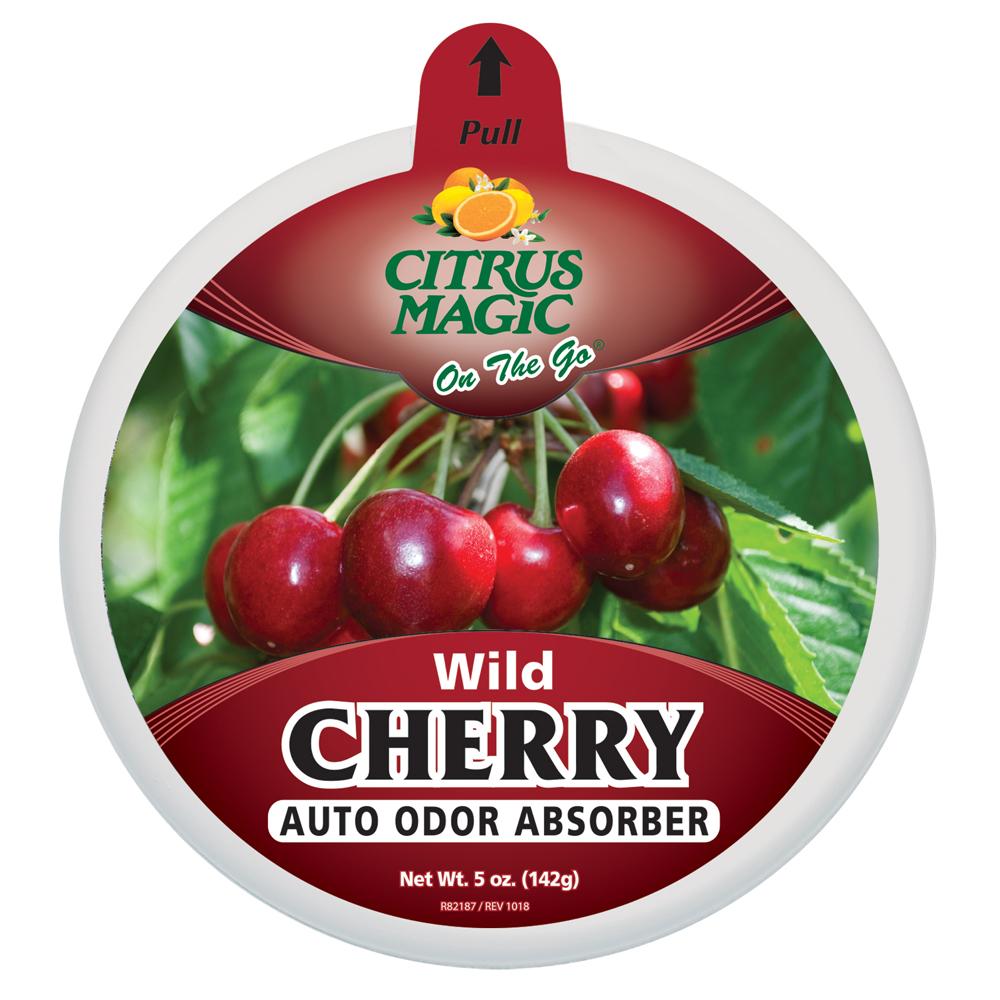 Citrus Magic Solid Air Freshener – On The Go – Wild Cherry
