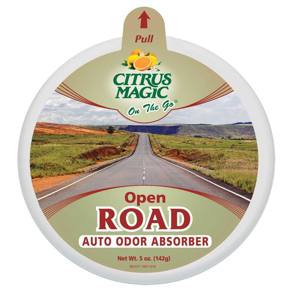 Citrus Magic Solid Air Freshener – On The Go – Open Road