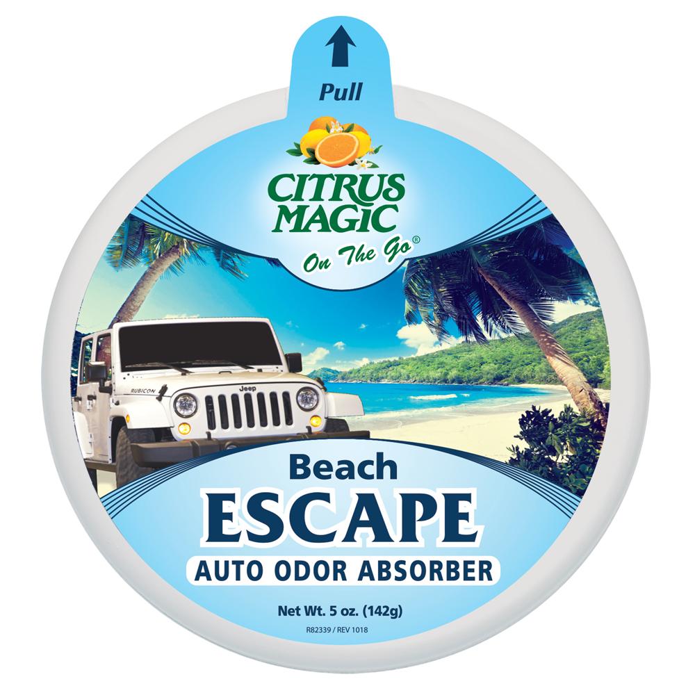 Citrus Magic Solid Air Freshener – On The Go – Beach Escape