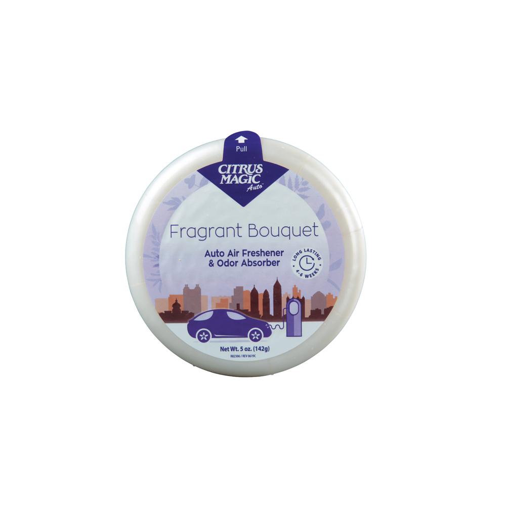 Citrus Magic Solid Air Freshener – Auto – Fragrant Bouquet