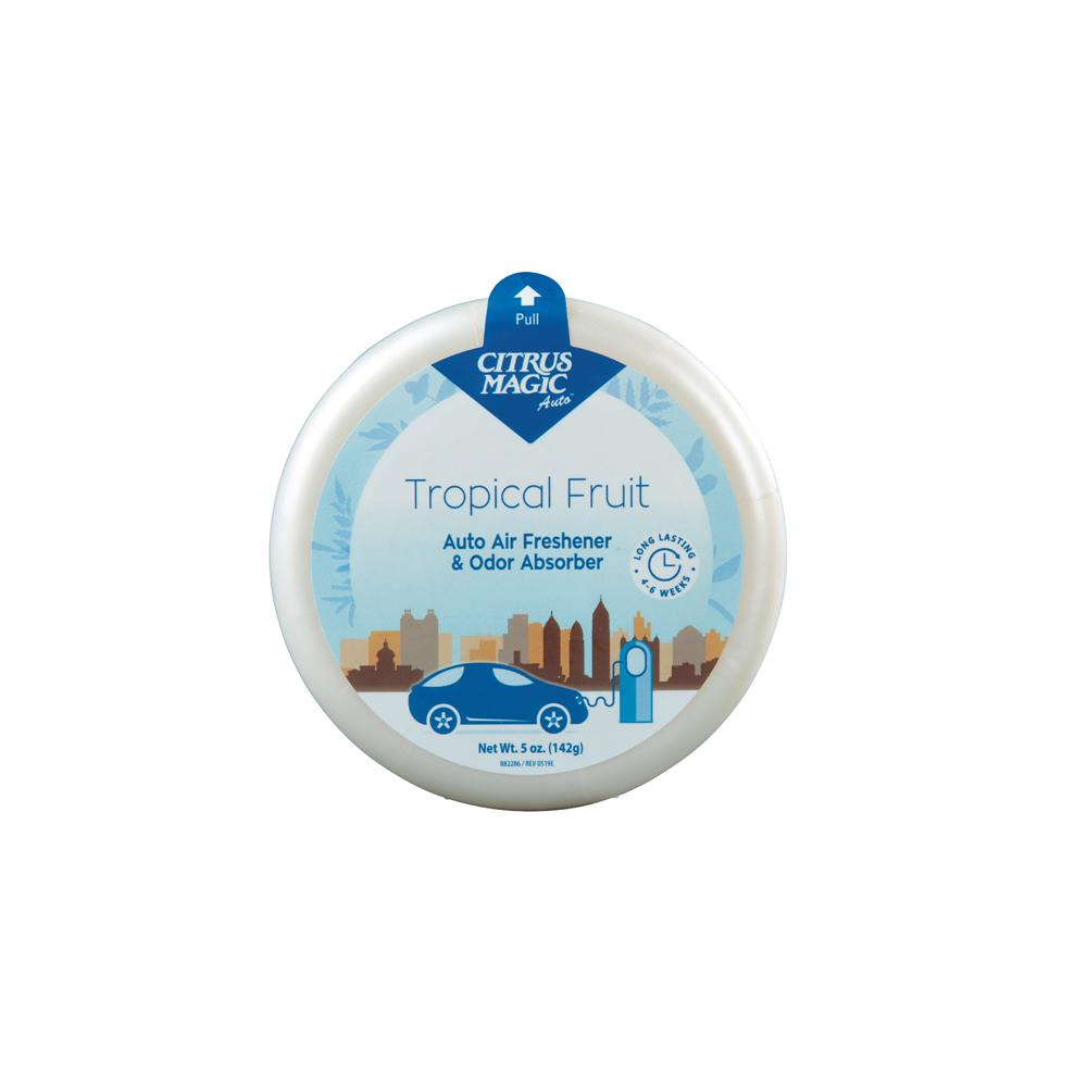 Citrus Magic Solid Air Freshener – Auto – Tropical Fruit