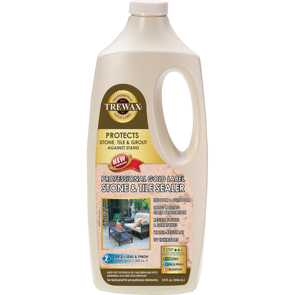Trewax Gold Label Indoor/Outdoor Stone and Tile Sealer
