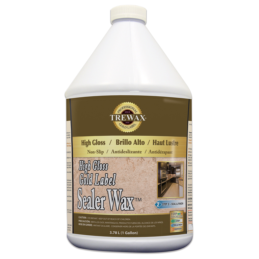 Trewax Gold Label Sealer Wax – High Gloss Finish